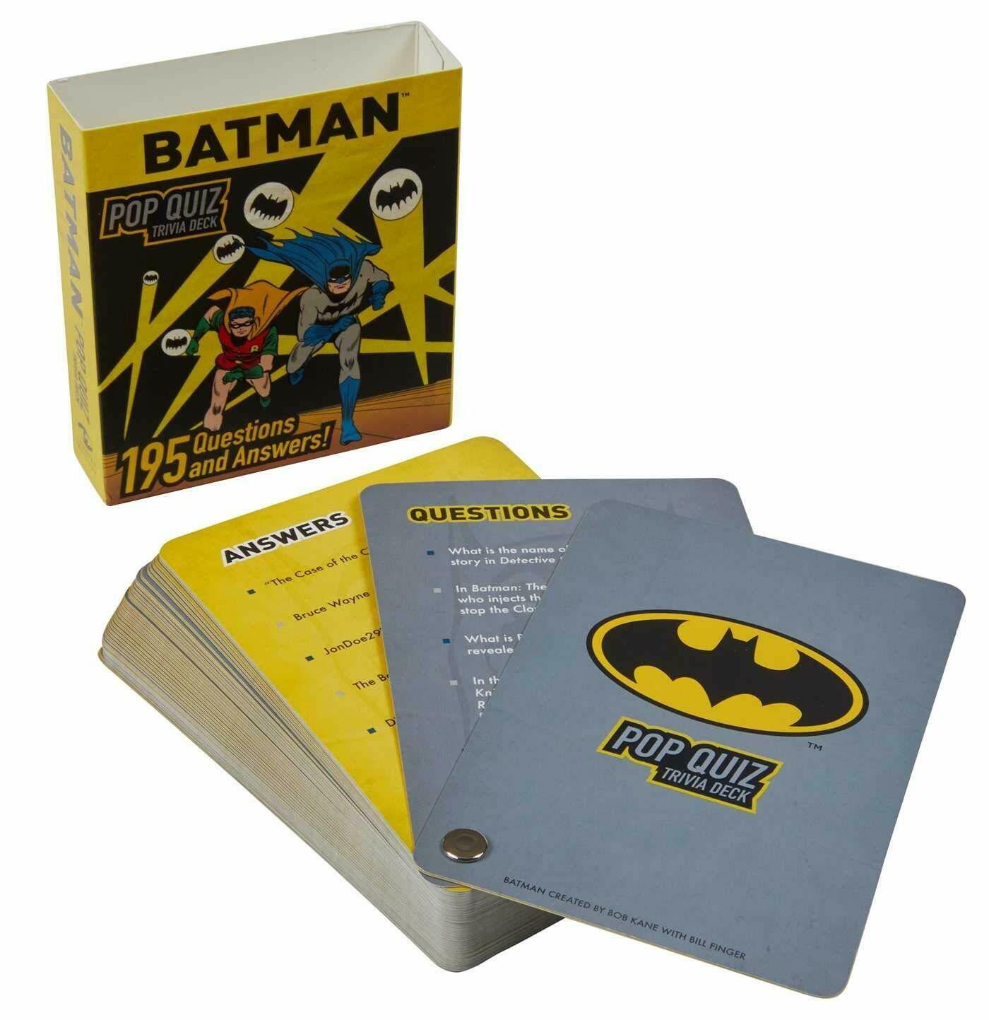 Batman Pop Quiz