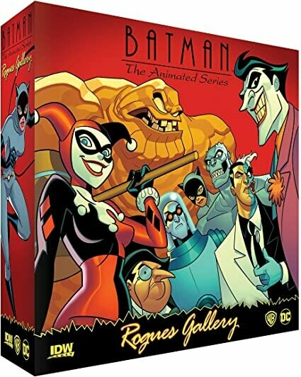 Batman Animated Series Rogues Gallery