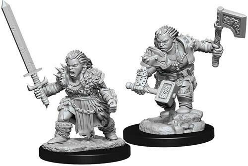 Female Dwarf Barbarian 73694