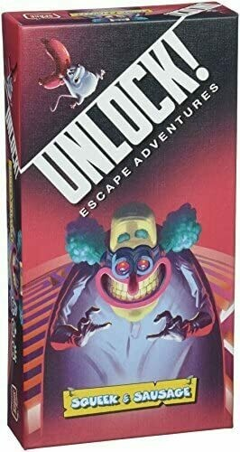Unlock!  Squeak & Sausage