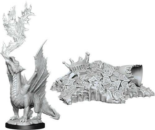 Gold Dragon Wyrmling Treasure Pile 90028
