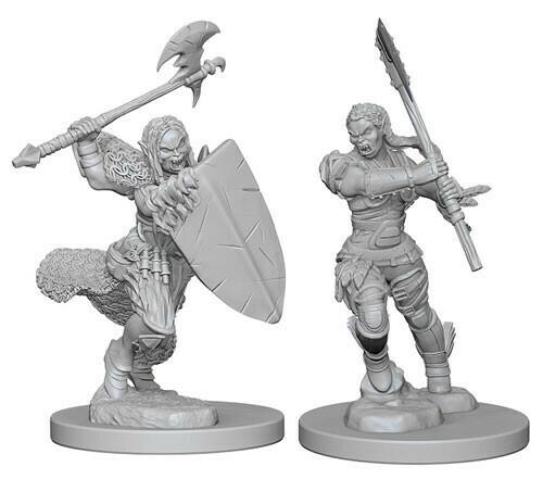 Half Orc Female Barbarian 72614