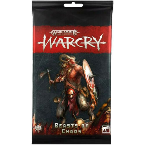 Warcry Beastmen Cards