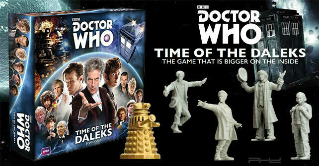 Dr. Who: Time Of The Daleks
