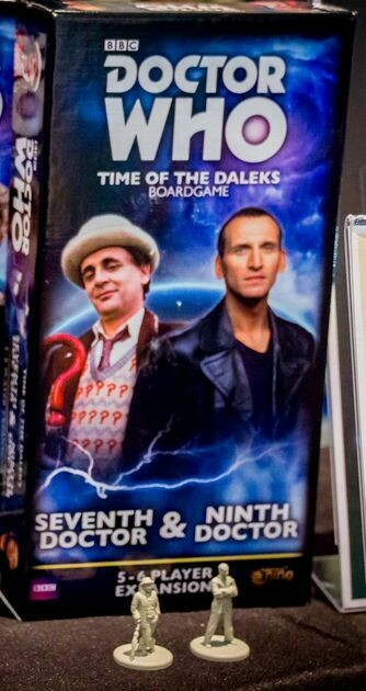 Dr Who Time Of The Daleks 7th And 9th Doctor