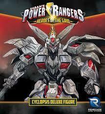 Power Rangers Heroes Of The Grid Cyclopsis Figure
