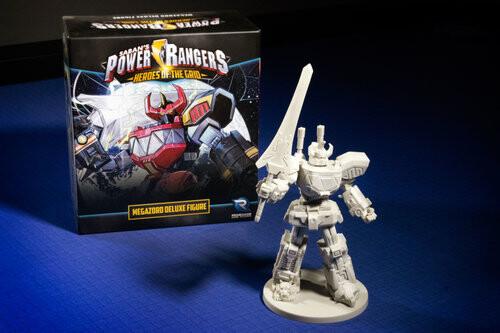 Power Rangers Heroes Of The Grid Megazord Figure