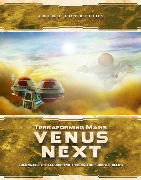 TRANSFORMING MARS: VENUS NEXT