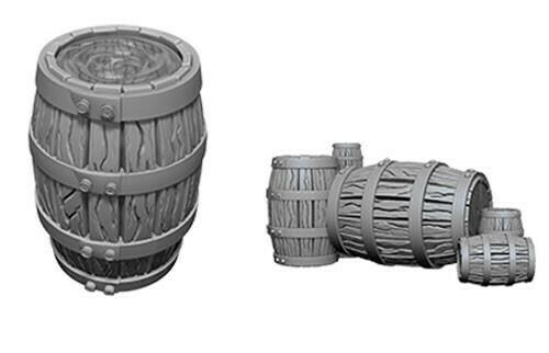 Barrel And Pile Of Barrels 73361