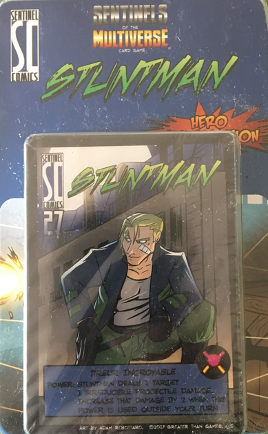 Sentinels Of The Multiverse Card Game Stuntman