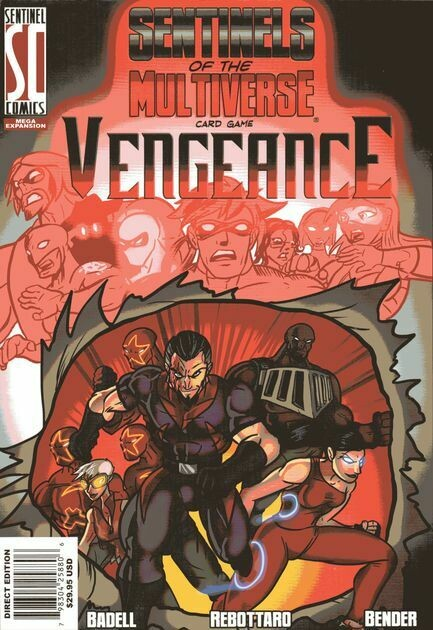 Sentinels Of The Multiverse Card Game Vengeance