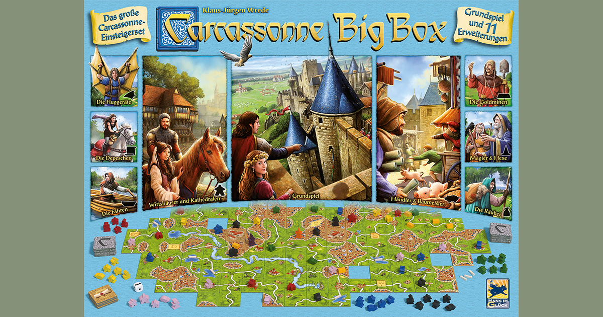 Carcassonne The Big Box 2017