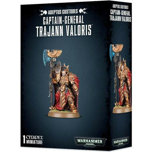 Adeptus Custodes Captain-General Trajann Valoris