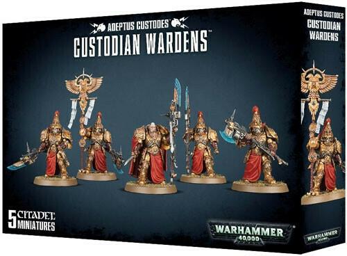 Adeptus Custodes Wardens
