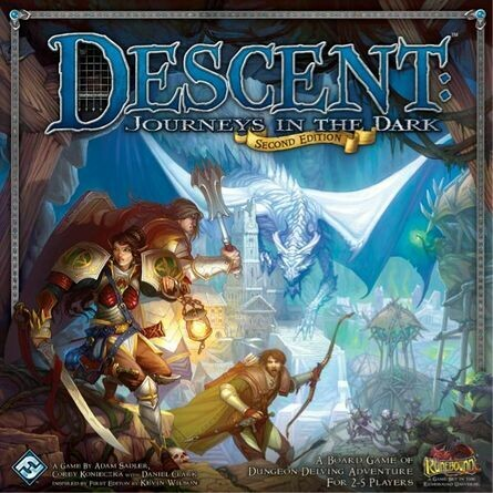 Descent Journeys In The Dark 2nd