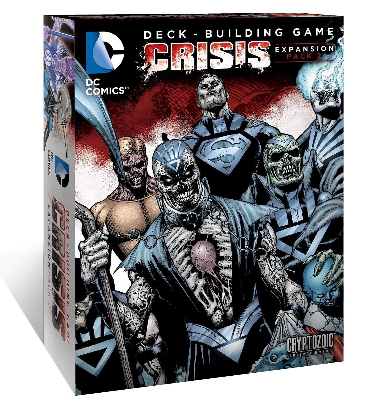 DC Deck Building Crisis Expansion Pack 2
