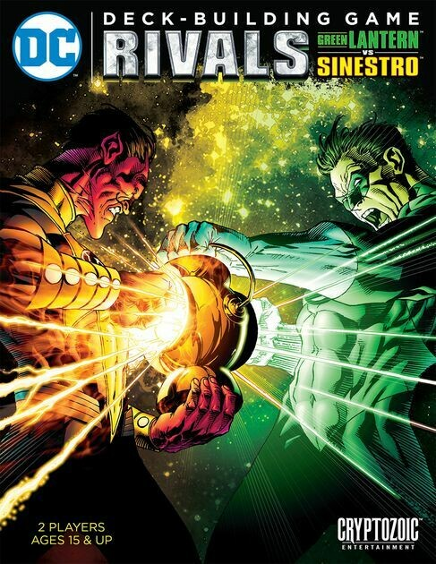 Dc Deckbuilding Game Rivals Green Lantern Vs Sinestro