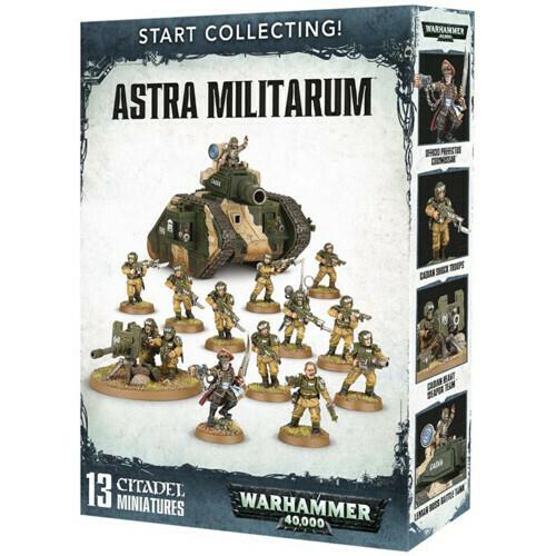 Start Collecting Astra Militarum
