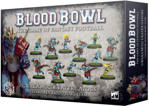 Blood Bowl Lizardmen Team - Gwaka'Moli Crater Gators