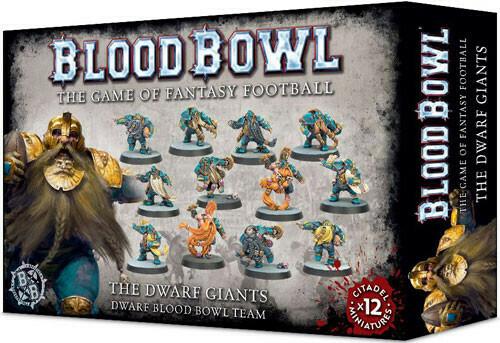 Blood Bowl Dwarf Giants