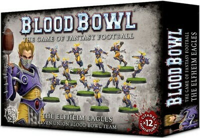 Blood Bowl Elven Union Team - Elfheim Eagles