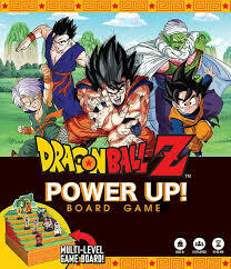Dragon Ball Z Power Up Board Game