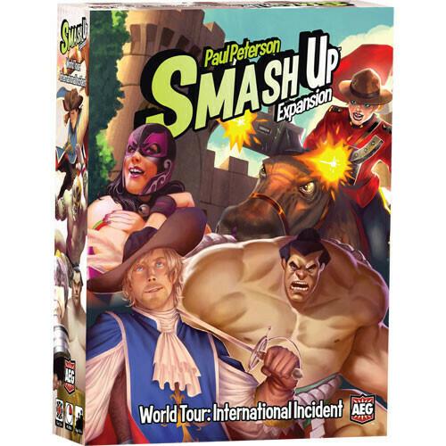 Smash Up Expansion World Tour: International Incident