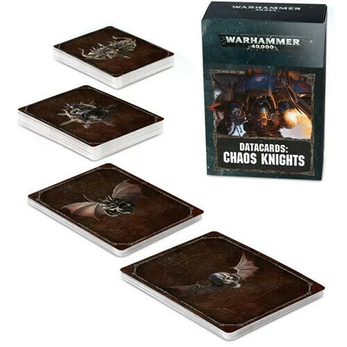 Chaos Knights Datacards