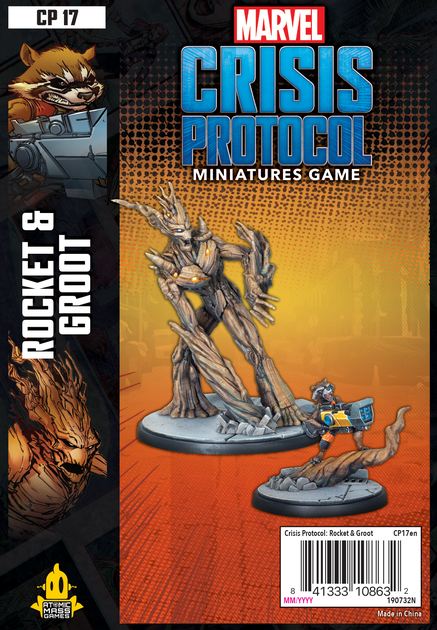Crisis Protocol Rocket And Groot