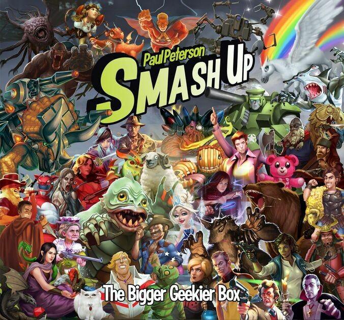 Smash Up The Bigger Geekier Box