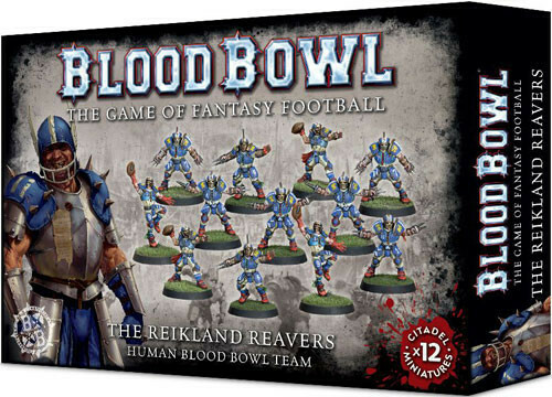 Blood Bowl Human Team - The Reikland Reavers