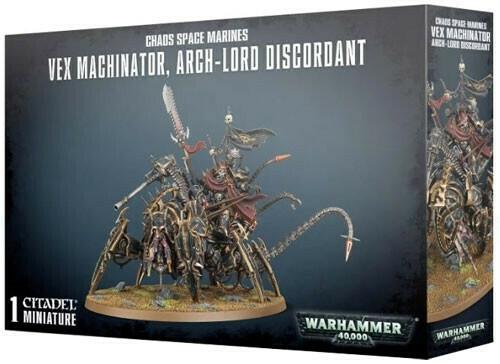 CSM Vex Machinator, Arch-Lord Discordant