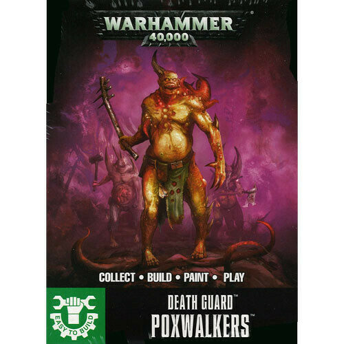 Death Guard ETB Poxwalkers