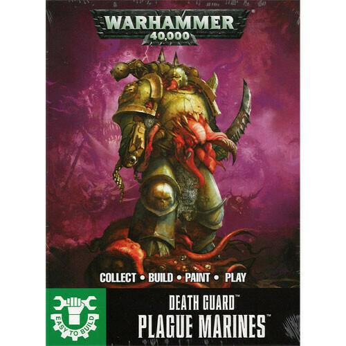 Death Guard Easy To Build Plague Marines