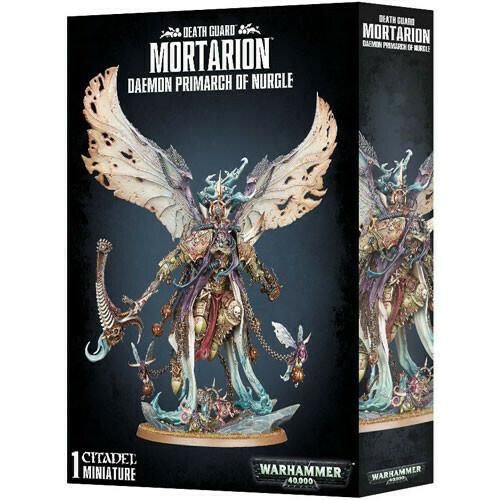 Death Guard Mortarion Daemon Primarch Of Nurgle
