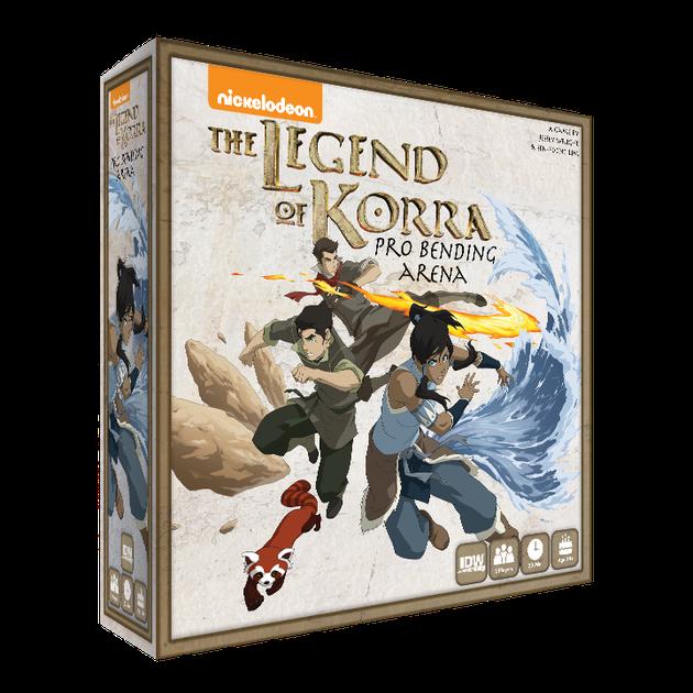 LEG OF KORRA PRO BENDING ARENA GAME
