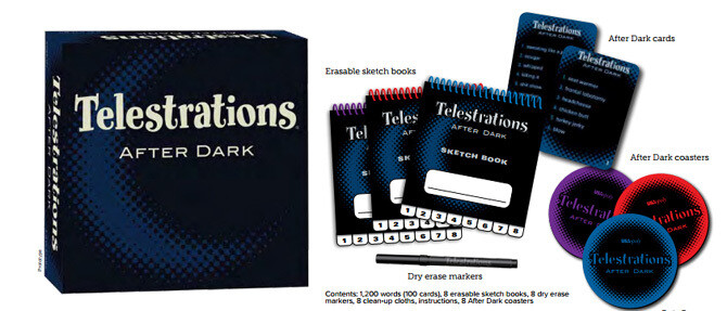 Telestrations 8 Player After Dark