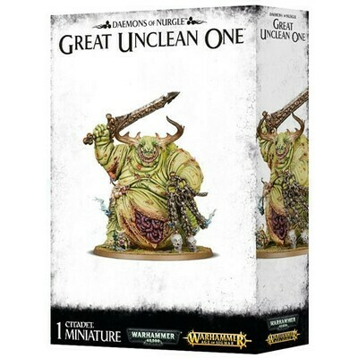 Nurgle Daemons Great Unclean One