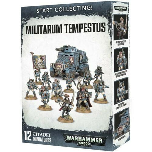Start Collecting: Militarum Tempestus