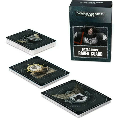 Warhammer 40k Datacards Raven Guard