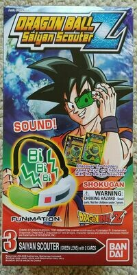 Dragon Ball Z Saiyan Scouter