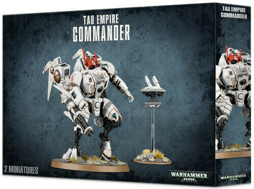 Tau Empire XV85 Commander