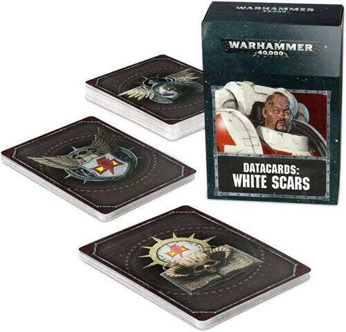 Datacards White Scars