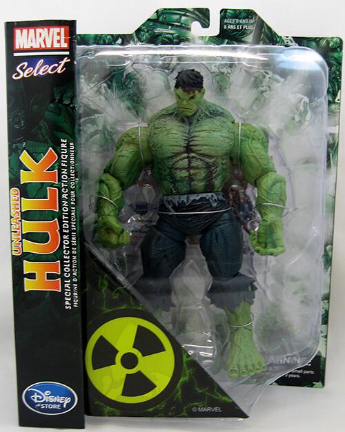 Marvel Select Unleased Hulk