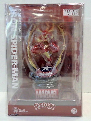 Iron Spiderman Figure D*Stage