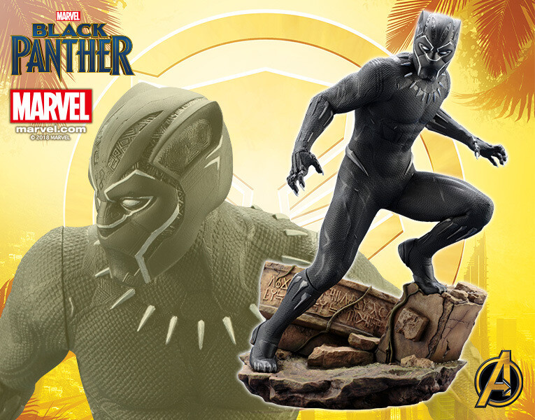 KOTOBUKIYA MARVEL BLACK PANTHER FIG