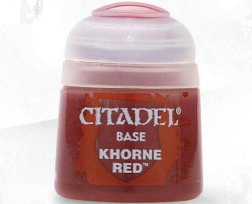 (Base)Khorne Red
