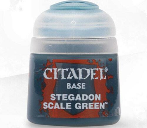(Base)Stegadon Scale Green