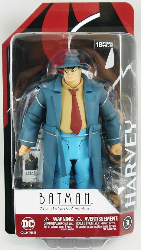 DC Collectibles Harvey Bullock Animated Series
