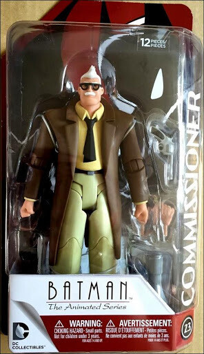 DC Collectibles Commissioner Gordon Animated Series
